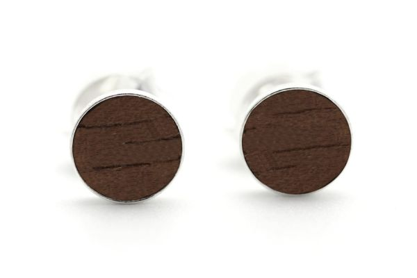 Filigree Ohrringe 5mm Silber