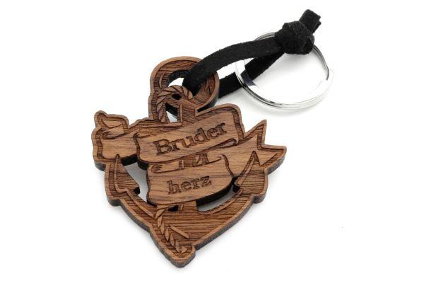 Bruderherz- Schlüsselanhänger