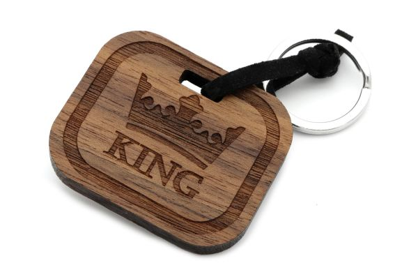 King- Schlüsselanhänger