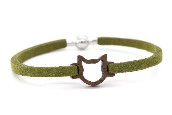 Armband Katzenkopf