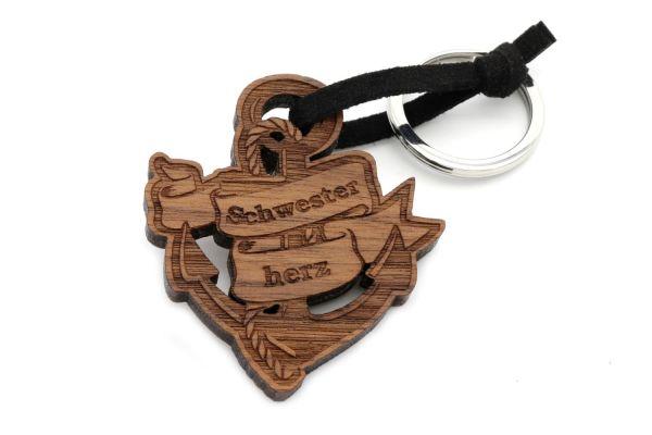 Schwesterherz- Schlüsselanhänger