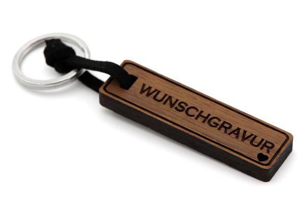 Individuelle Wunschgravur Schlüsselanhänger