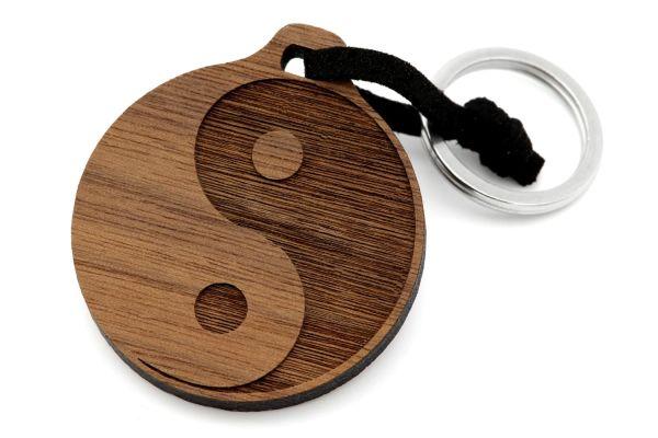 Yin und Yang Schlüsselanhänger