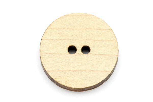 Knöpfe aus Holz Ahorn Maserung