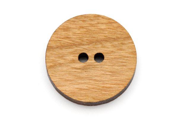 Knöpfe aus Holz Kirsche Maserung
