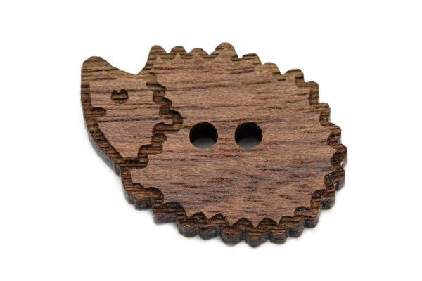 Holzknöpfe Igel