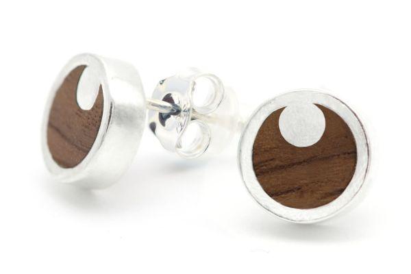 Moonshine Ohrringe 9mm Silber