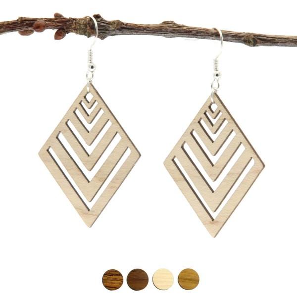 Holz Ohrhänger Mara Varianten handmade Ohrringe