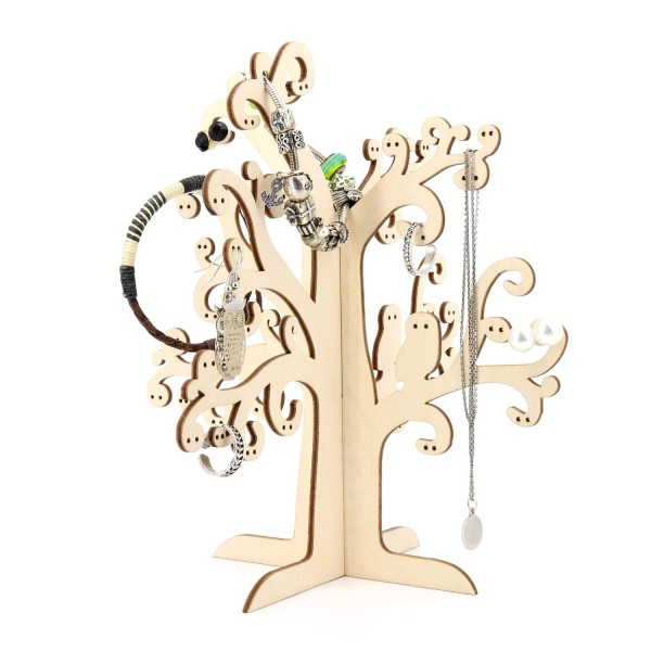Dekorativer Schmuckbaum für Ohrringe, Ketten und Ringe
