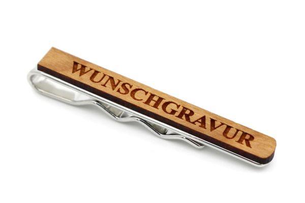 Krawattennadel Kirsche - individuelle Gravur