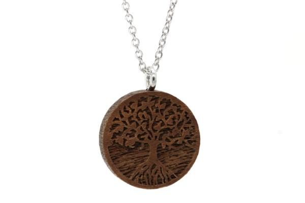 Halskette 3D Baum des Lebens