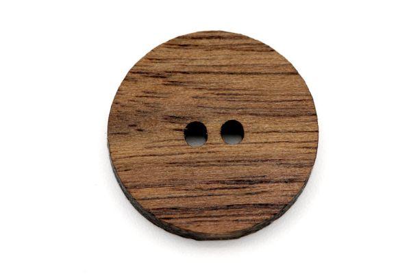 Knöpfe aus Holz Nussbaum Maserung